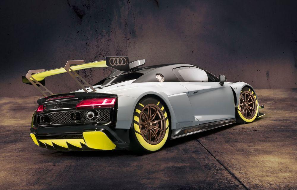 Audi a lansat noul R8 LMS GT2: versiunea de competiții cântărește 1.350 de kilograme și promite 640 CP - Poza 4