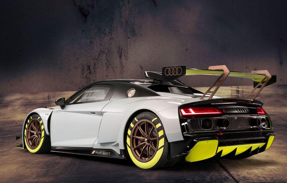 Audi a lansat noul R8 LMS GT2: versiunea de competiții cântărește 1.350 de kilograme și promite 640 CP - Poza 5