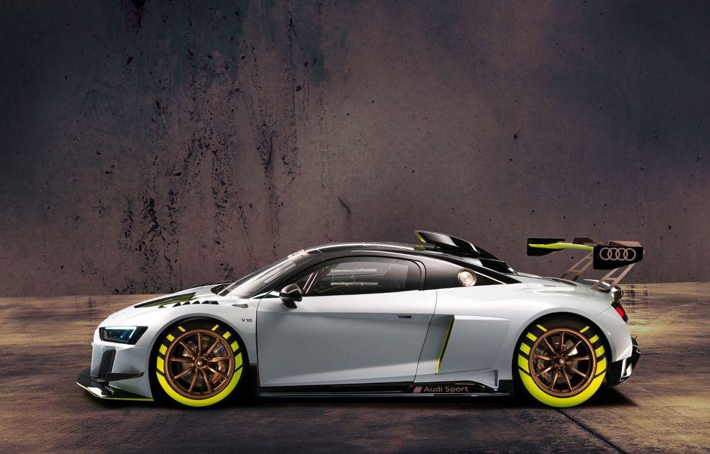 Audi a lansat noul R8 LMS GT2: versiunea de competiții cântărește 1.350 de kilograme și promite 640 CP - Poza 3