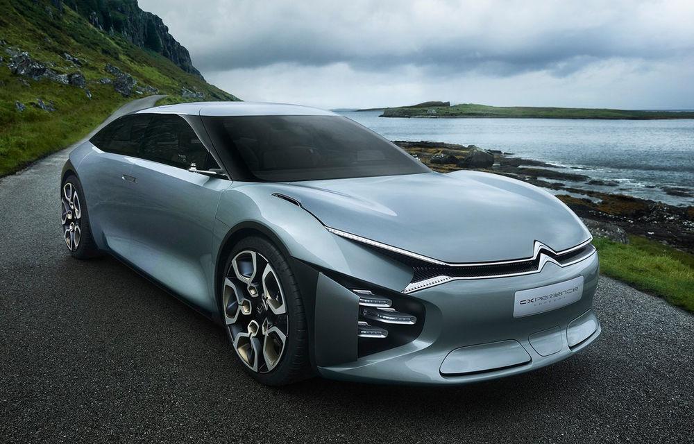 Citroen va lansa trei sedanuri complet noi: primul dintre ele va fi bazat pe conceptul C-xperience și va fi prezentat în 2020 - Poza 1