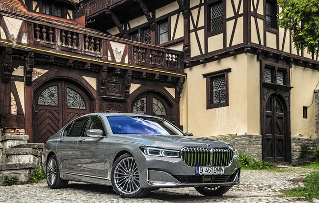 Test drive BMW Seria 7 facelift