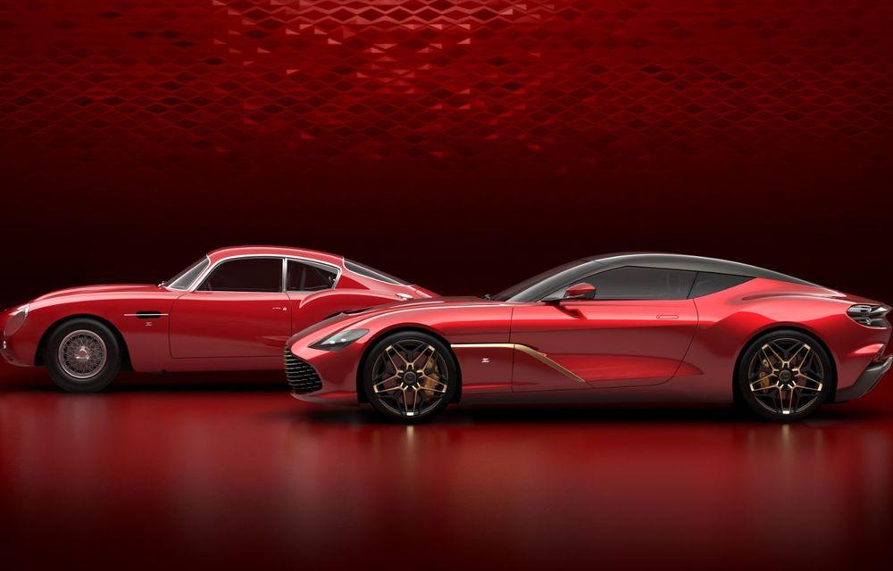 Imagini oficiale pentru noul Aston Martin DBS GT Zagato: ediție specială cu doar 19 exemplare, producția începe în 2020 - Poza 3