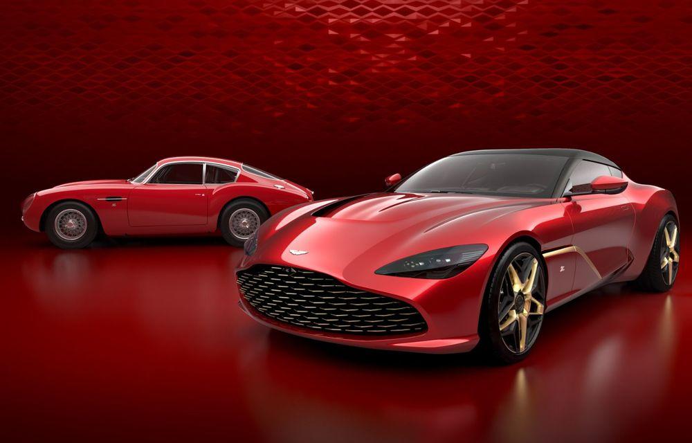 Imagini oficiale pentru noul Aston Martin DBS GT Zagato: ediție specială cu doar 19 exemplare, producția începe în 2020 - Poza 1