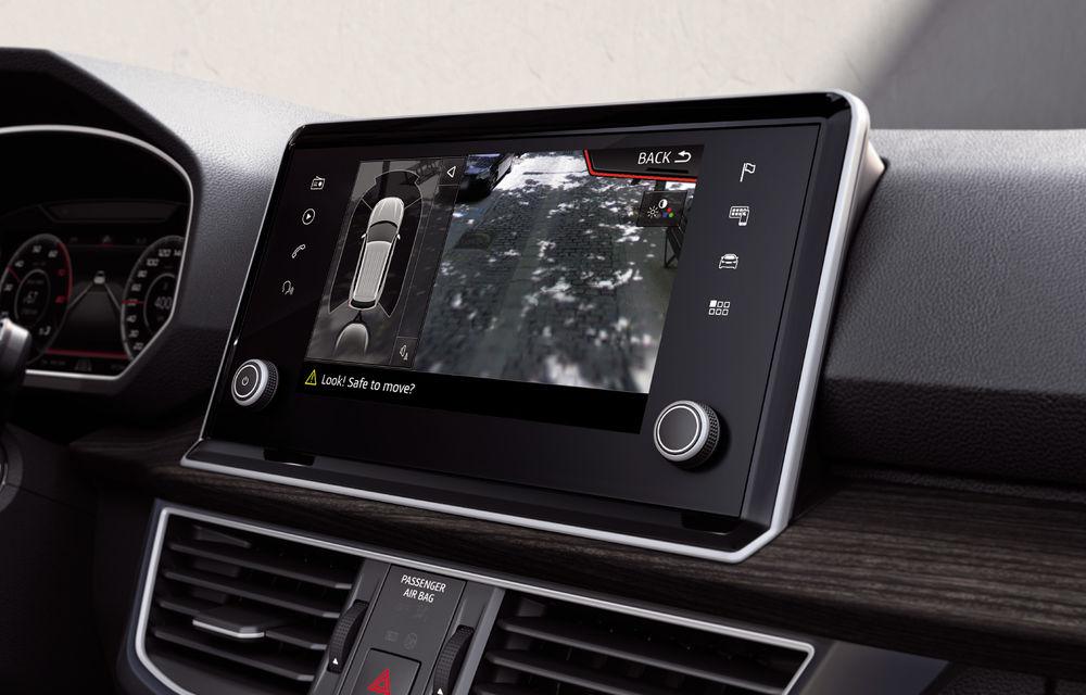 Seat introduce îmbunătățiri în actuala gamă de modele: Ateca, disponibil standard cu sistem de infotainment de 8 inch - Poza 4