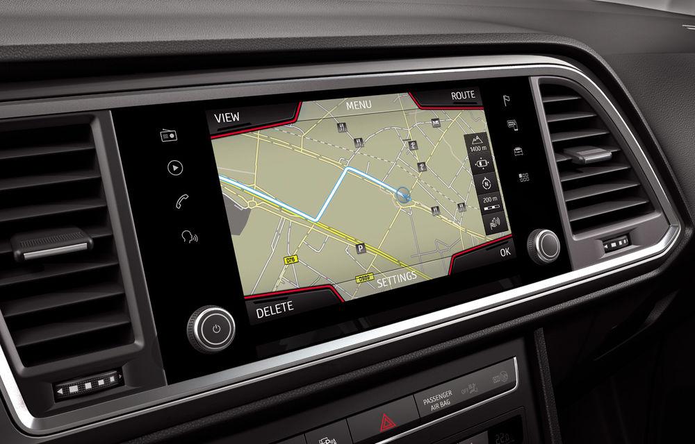 Seat introduce îmbunătățiri în actuala gamă de modele: Ateca, disponibil standard cu sistem de infotainment de 8 inch - Poza 3