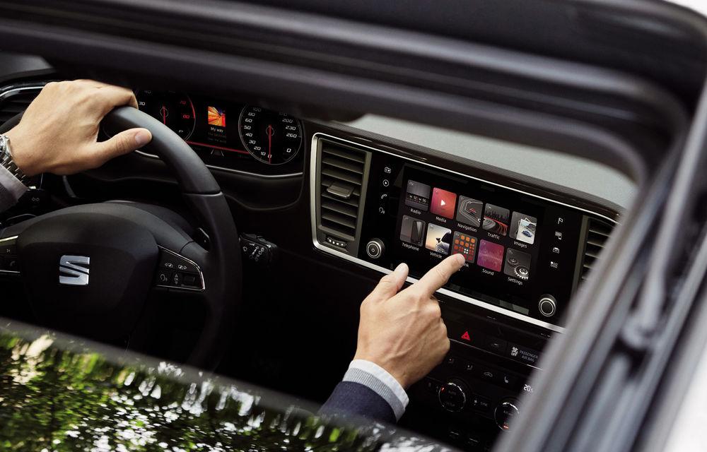 Seat introduce îmbunătățiri în actuala gamă de modele: Ateca, disponibil standard cu sistem de infotainment de 8 inch - Poza 2