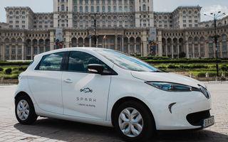 Serviciul de car-sharing Spark s-a lansat în România: prețurile încep de la 1.2 lei pe minut, iar flota este formată din Nissan Leaf și Renault Zoe