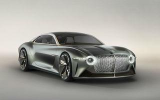 Bentley prezintă conceptul electric EXP 100 GT: autonomie de 700 de kilometri, viteză maximă de 300 km/h și cuplu de 1.500 Nm