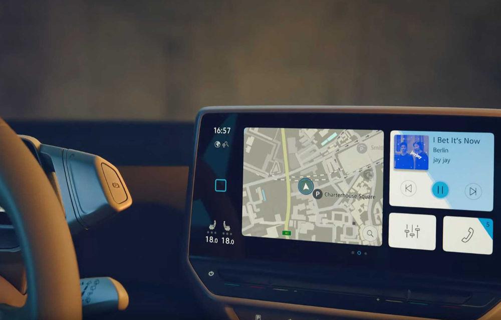 Primele imagini cu interiorul lui Volkswagen ID.3: hatchback-ul electric va fi prezentat oficial în septembrie - Poza 1