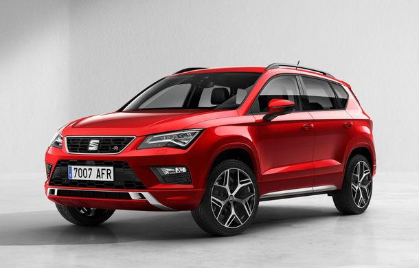 Seat Ateca se pregătește de un facelift în 2020: SUV-ul ar putea primi o versiune plug-in hybrid - Poza 1