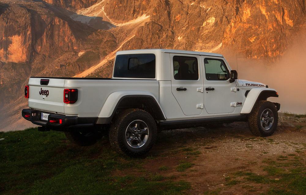 Detalii despre versiunea europeană a lui Jeep Gladiator: pick-up-ul va fi disponibil doar cu un motor diesel de 3.0 litri și 260 de cai putere - Poza 4