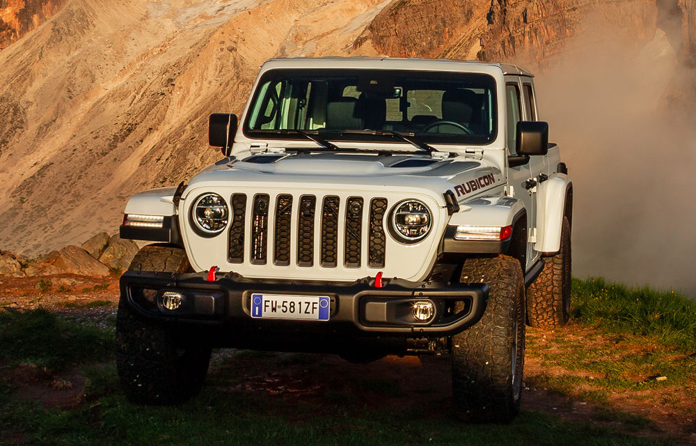 Detalii despre versiunea europeană a lui Jeep Gladiator: pick-up-ul va fi disponibil doar cu un motor diesel de 3.0 litri și 260 de cai putere - Poza 2