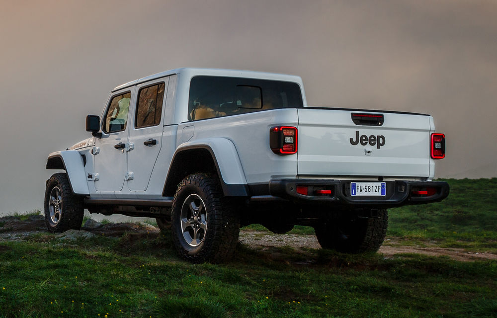 Detalii despre versiunea europeană a lui Jeep Gladiator: pick-up-ul va fi disponibil doar cu un motor diesel de 3.0 litri și 260 de cai putere - Poza 3