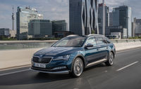 Test drive Skoda Superb Scout
