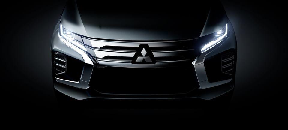 Teaser pentru Mitsubishi Pajero Sport facelift: lansare programată pe 25 iulie - Poza 1