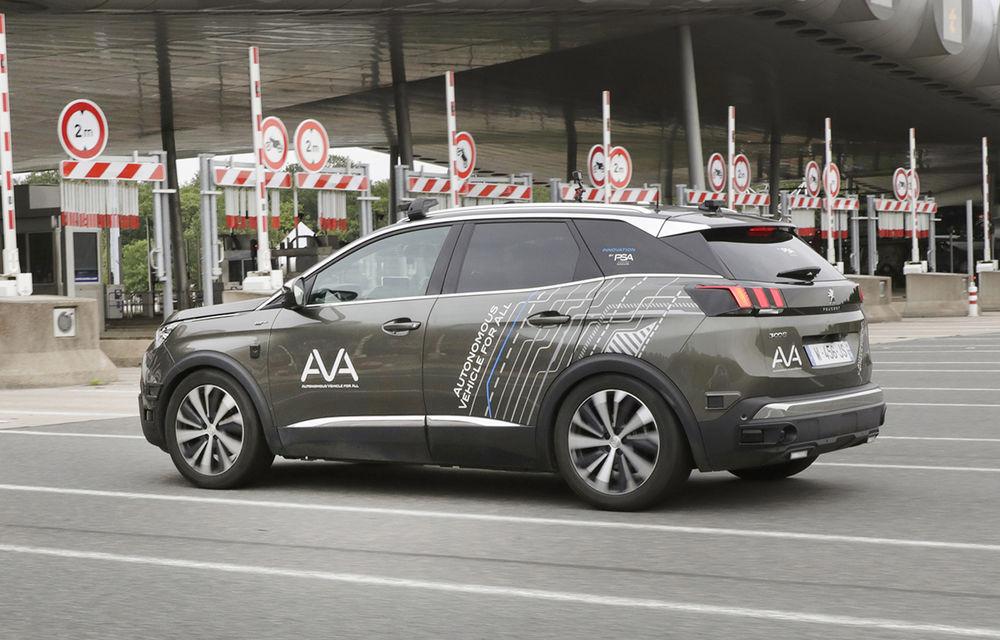 Peugeot extinde gama de teste cu tehnologii autonome: noile funcții autonome sunt testate cu 3008 pe autostrăzile din Franța - Poza 1