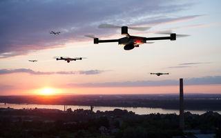 """Poliția rutieră din Londra va folosi drone: """"Scopul este intimidarea șoferilor agresivi și a celor care participă la curse ilegale de mașini"""""""