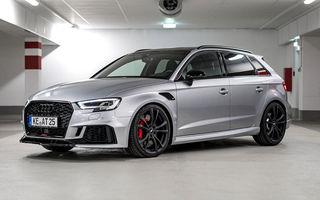 Audi RS3 Sportback primește un nou pachet de performanță din partea ABT: 470 CP și viteză maximă de 285 km/h