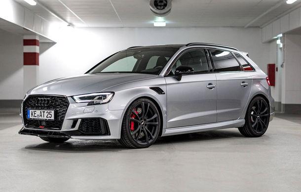 Audi RS3 Sportback primește un nou pachet de performanță din partea ABT: 470 CP și viteză maximă de 285 km/h - Poza 1