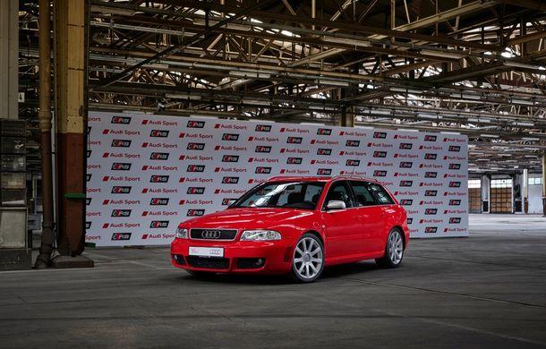 Aniversare în Ingolstadt: 25 de ani de la introducerea primului model Audi RS - Poza 4