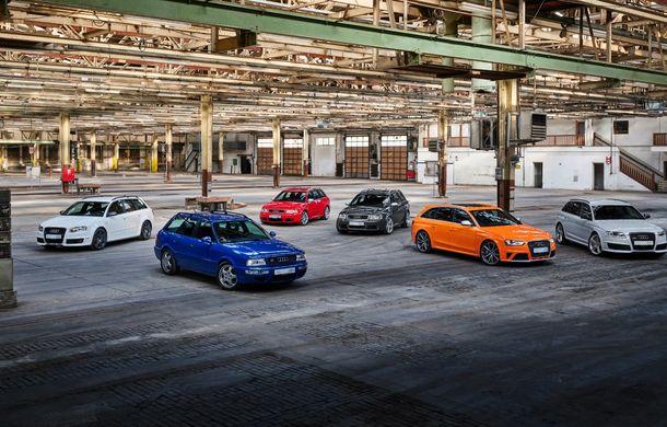 Aniversare în Ingolstadt: 25 de ani de la introducerea primului model Audi RS - Poza 2