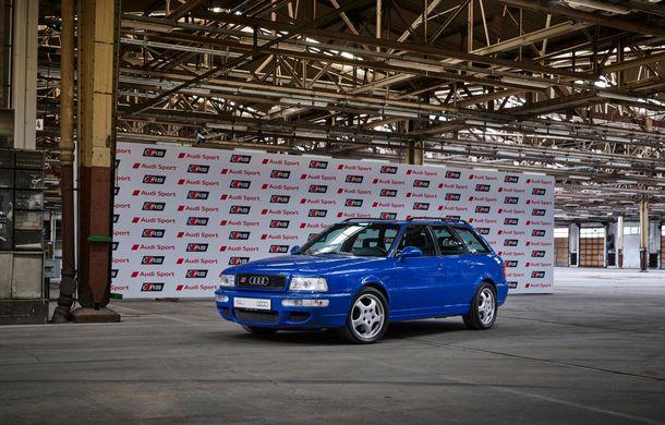 Aniversare în Ingolstadt: 25 de ani de la introducerea primului model Audi RS - Poza 3