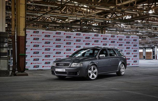 Aniversare în Ingolstadt: 25 de ani de la introducerea primului model Audi RS - Poza 5