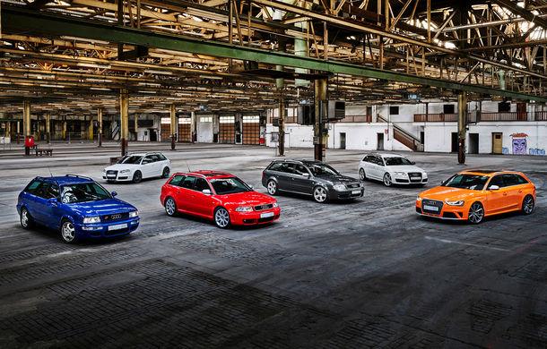 Aniversare în Ingolstadt: 25 de ani de la introducerea primului model Audi RS - Poza 1