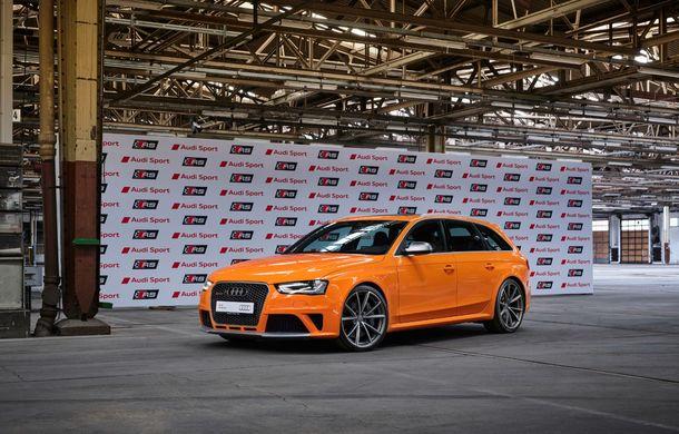 Aniversare în Ingolstadt: 25 de ani de la introducerea primului model Audi RS - Poza 7