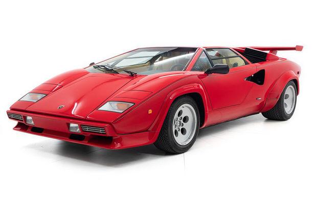 Un Lamborghini Countach care i-a aparținut campionului de Formula 1 Mario Andretti a fost scos la vânzare: suma cerută trece de 440.000 de euro - Poza 1