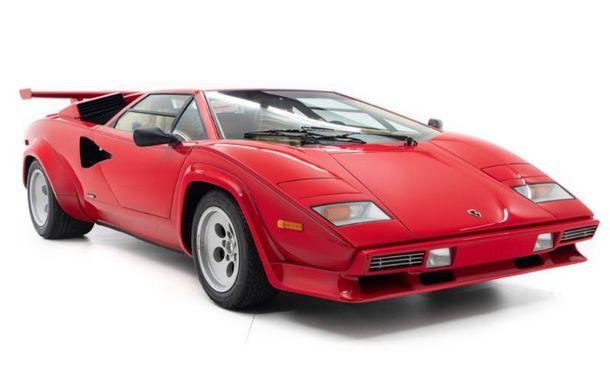 Un Lamborghini Countach care i-a aparținut campionului de Formula 1 Mario Andretti a fost scos la vânzare: suma cerută trece de 440.000 de euro - Poza 2