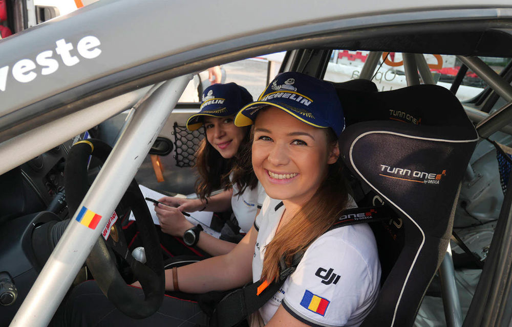 Premieră în motorsportul autohton: un echipaj românesc 100% feminin concurează într-o etapă din Campionatul European de Raliuri - Poza 3
