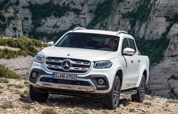 Daimler vrea să scoată din producție pick-up-ul Mercedes Clasa X: tăieri de costuri, după pierderile uriașe din ultimele 3 luni - Poza 1