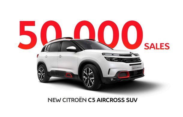 Citroen a comercializat 50.000 de unități C5 Aircross în 6 luni de la lansare: francezii au cea mai mare creștere a vânzărilor la nivel european, în prima jumătate din 2019 - Poza 1