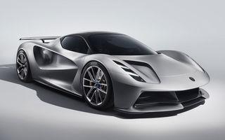 Lotus a prezentat noul Evija: primul hypercar electric al companiei va oferi 2.000 CP și va accelera de la 0 la 100 km/h în mai puțin de 3 secunde