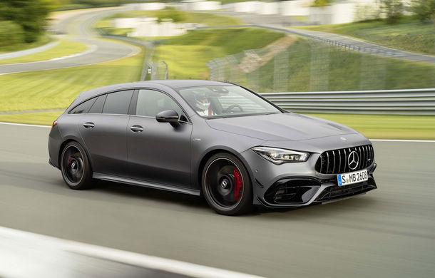 Mercedes-AMG CLA 45 Shooting Brake a fost prezentat oficial: modelul de performanță oferă până la 421 CP - Poza 1