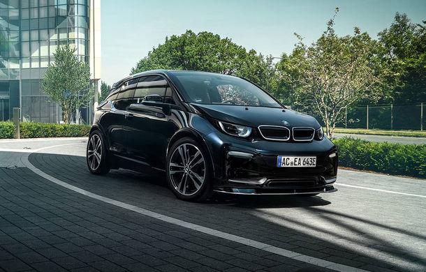 Un pic mai agresiv: BMW i3S a primit un pachet estetic din partea tunerului AC Schnitzer - Poza 1
