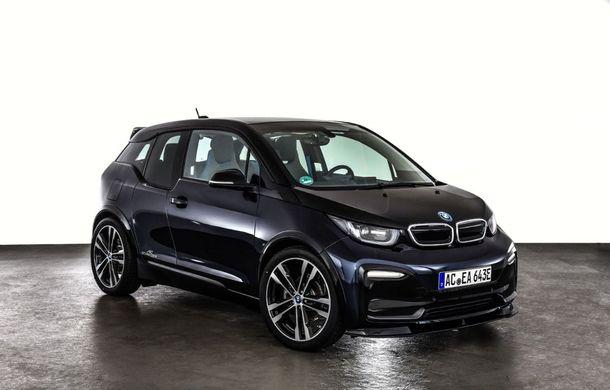 Un pic mai agresiv: BMW i3S a primit un pachet estetic din partea tunerului AC Schnitzer - Poza 6