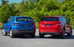 Îmbunătățiri pentru SUV-urile din gama Skoda: Karoq și Kodiaq primesc amortizoare adaptive pentru versiunile cu roți motrice față și echipamente noi de siguranță