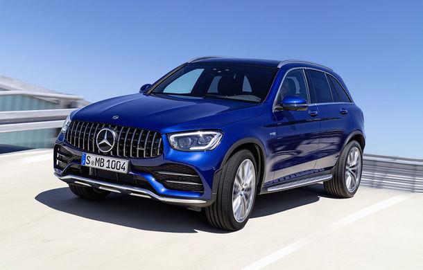 Mercedes-AMG GLC 43 4Matic facelift și AMG GLC 43 4Matic Coupe facelift au fost prezentate oficial: motor V6 de 3.0 litri cu 390 CP - Poza 1