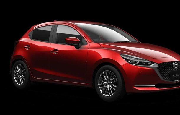 Mazda 2 facelift, poze și detalii oficiale: modificări exterioare minore, tehnologii noi și motorizări mild-hybrid - Poza 5