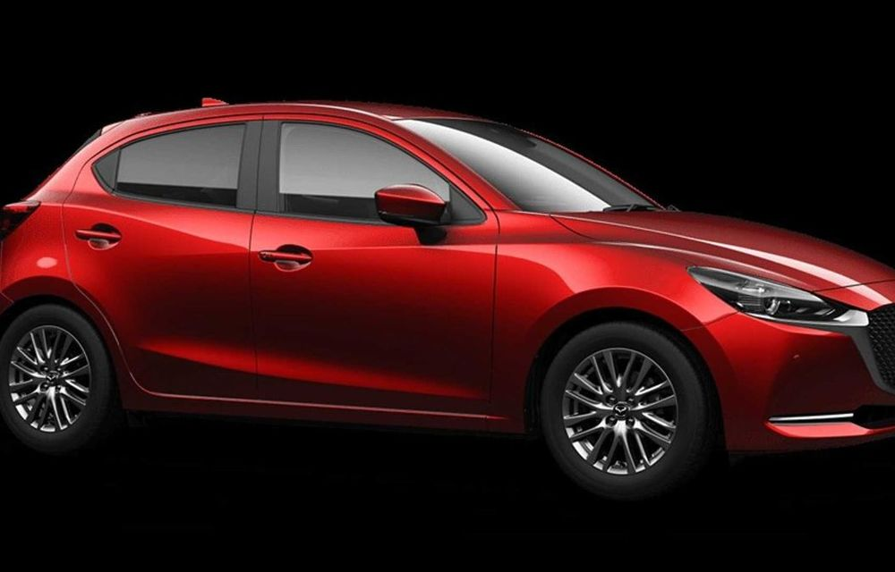 Mazda 2 facelift, poze și detalii oficiale: modificări exterioare minore, tehnologii noi și motorizări mild-hybrid - Poza 6