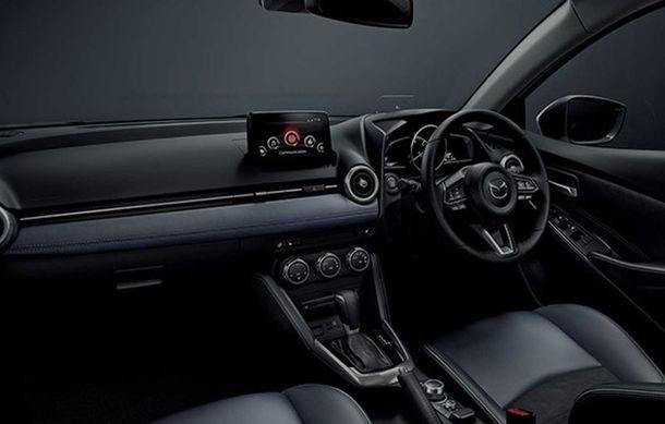 Mazda 2 facelift, poze și detalii oficiale: modificări exterioare minore, tehnologii noi și motorizări mild-hybrid - Poza 12