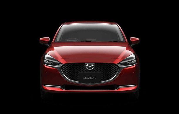 Mazda 2 facelift, poze și detalii oficiale: modificări exterioare minore, tehnologii noi și motorizări mild-hybrid - Poza 3