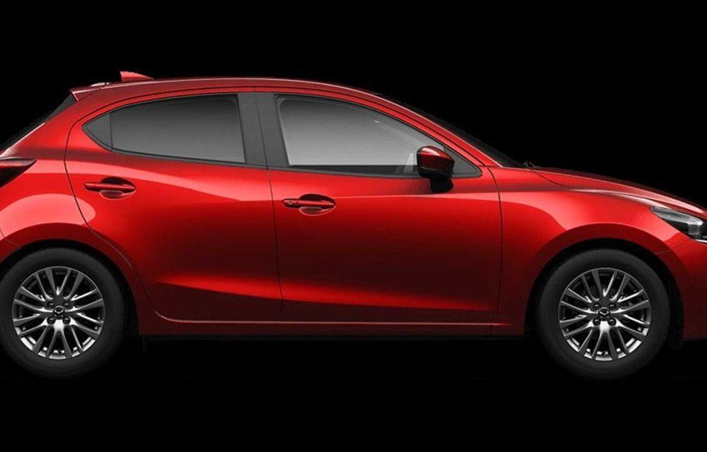 Mazda 2 facelift, poze și detalii oficiale: modificări exterioare minore, tehnologii noi și motorizări mild-hybrid - Poza 7