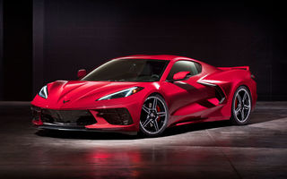 Chevrolet a prezentat noua generație Corvette: C8 Stingray are motor V8 amplasat central cu 502 CP