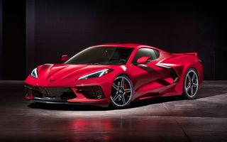 Chevrolet a prezentat noua generație Corvette: C8 Stingray are motor V8 amplasat central cu 502 CP