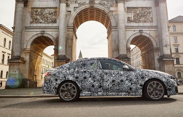 BMW a publicat o nouă imagine cu viitorul Seria 2 Gran Coupe: rivalul lui Mercedes-Benz CLA debutează în cursul acestui an - Poza 1
