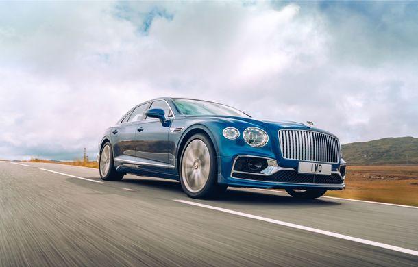 Bentley prezintă seria limitată Flying Spur First Edition: producția va începe la sfârșitul lui 2019 - Poza 5