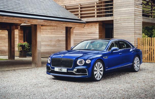Bentley prezintă seria limitată Flying Spur First Edition: producția va începe la sfârșitul lui 2019 - Poza 1